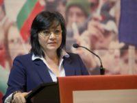 Корнелия Нинова: Няма да вадим България от ЕС и от съюзите, в които членува, но искаме възстановяване на отношенията с Русия