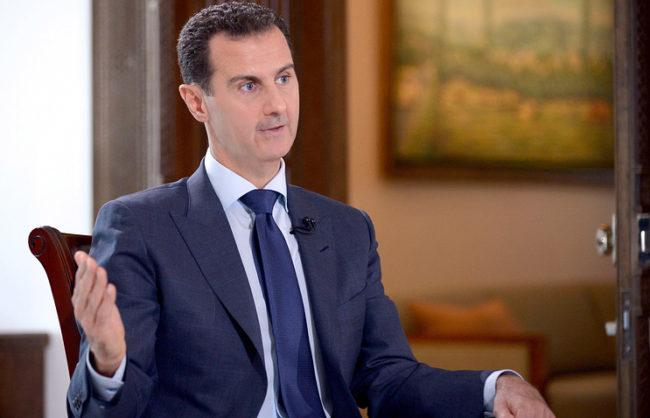 Асад: Тръмп може да стане естествен съюзник на Сирия, ако се бори против тероризма
