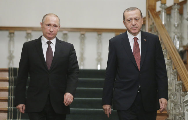 Путин и Ердоган с план за Алепо