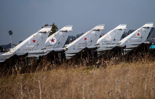 Руските сили са унищожили над 62 000 военни обекта в Сирия
