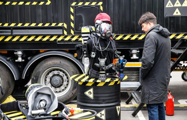 """Руско министерство получи робот, който """"вижда"""" радиацията"""