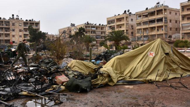 Руски военни медици загинаха в Алепо