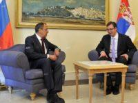 Лавров: Русия вижда усилията на Сърбия за укрепване на двустранните връзки