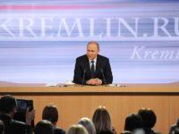 Путин ще даде 12-ата си голяма пресконференция днес