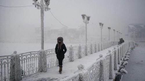 Мост над река Ленав Якутск - четвъртата по дължина в Русия