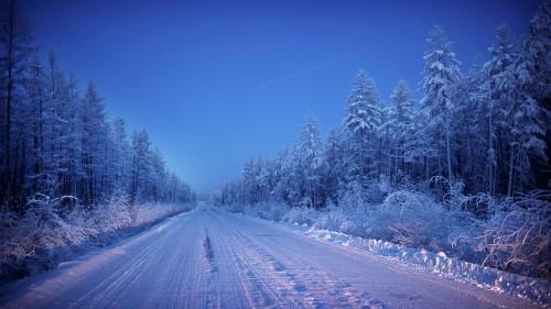 За да стигнете до Оймякон, тръгвайки от Якутск, трябва да пътувате два дни.