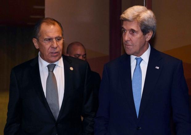 Лавров и Кери  разговаряха за Сирия
