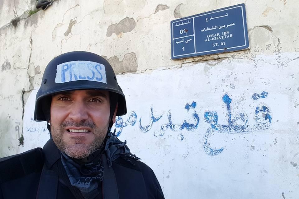 Българският журналист Борис Анзов. Снимка Фейсбук