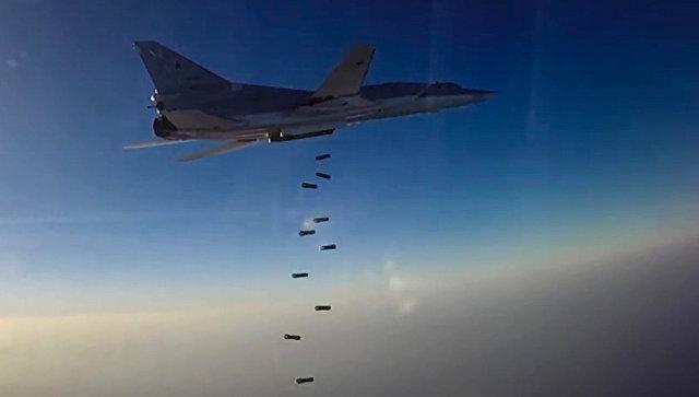 Шест руски стратегически бомбардировачи удариха ИД