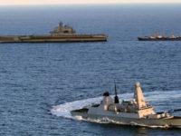 """""""Адмирал Кузнецов"""" под строго наблюдение от НАТО"""