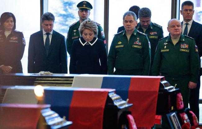 Русия изпраща жертвите от авиокатастрофата на Ту-154: Поклон!