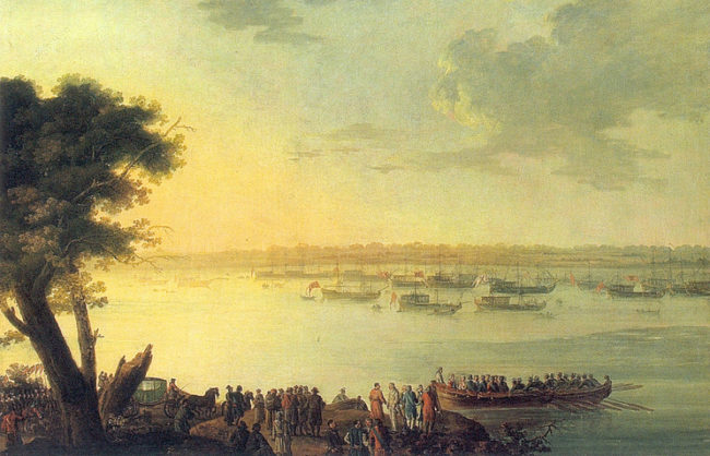 Как и защо Екатерина II е посетила Крим