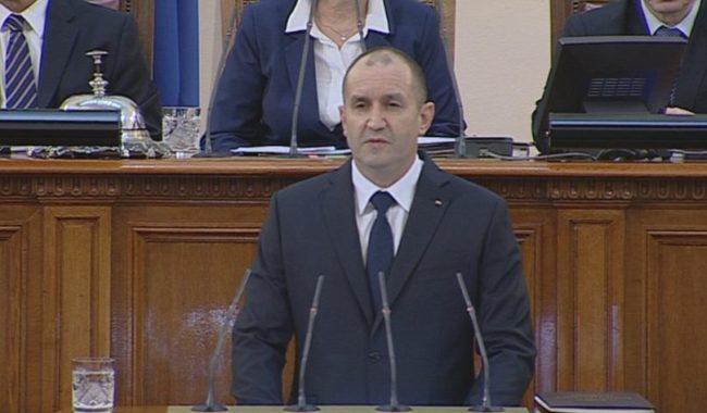 Радев: Да си българин е чест, не участ