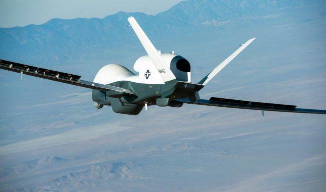 """Безпилотна летателна система """"Тритон"""". Снимка: Reuters"""