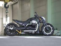 """Водачът на """"Нощните вълци"""" представи новия руски мотоциклет """"Вълк"""""""