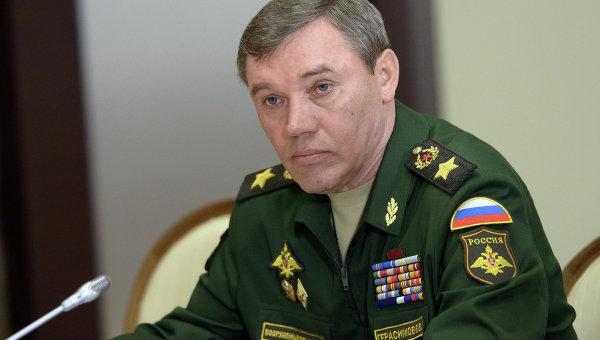 Началникът на генералния щаб на Русия Валерий Герасимов