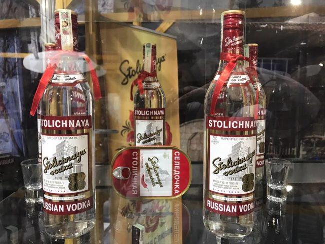 Посетители превзеха щанда на водка Столичная на Винария 2017