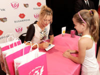 Maria Sharapova Launches Her Sugarpova Candy Collection On The West Coast At IT'SUGAR At Universal CityWalk In LA