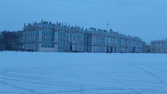 Санкт Петербург през зимата