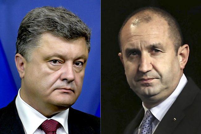 Порошенко се обади на Радев, надява се България да подкрепи запазването на санкциите срещу Русия