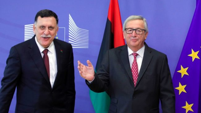 BELGIUM EU LIBYA / БГНЕС