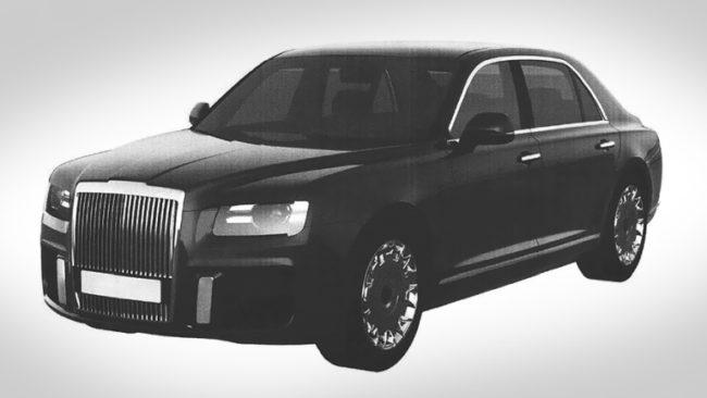 Патентоваха новите лимузина и джип на Путин