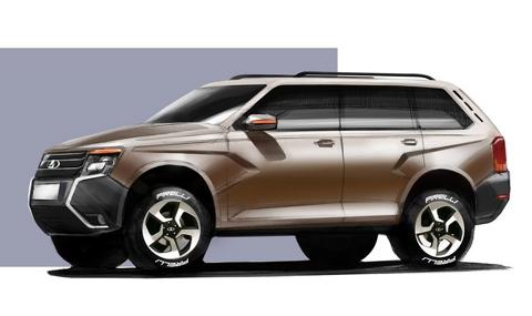 АвтоВАЗ: Новата Niva ще бъде брутален всъдеход