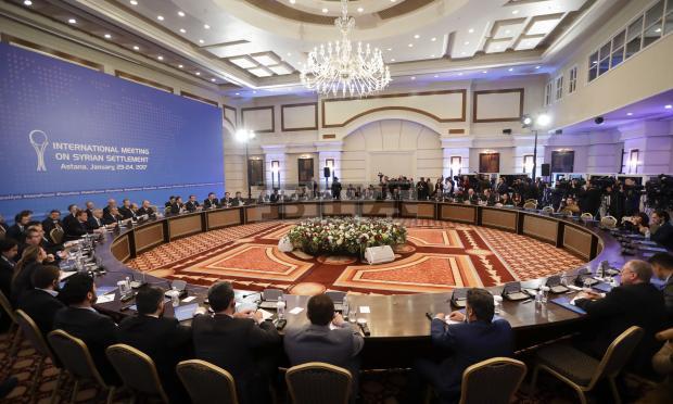 Русия, Турция и Иран започнаха срещата за Сирия в Астана