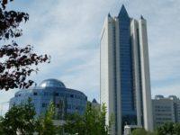 """Седалището на """"Газпром"""" в Москва. Снимка: """"Газпром"""""""