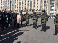 Десетки задържани на опозиционни протести в няколко градове в Русия