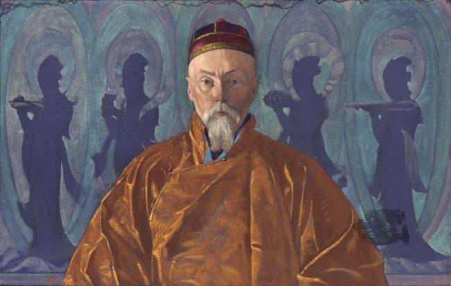 Портрет на Николай Рьорих. Светослав Рьорих,  1928 г.