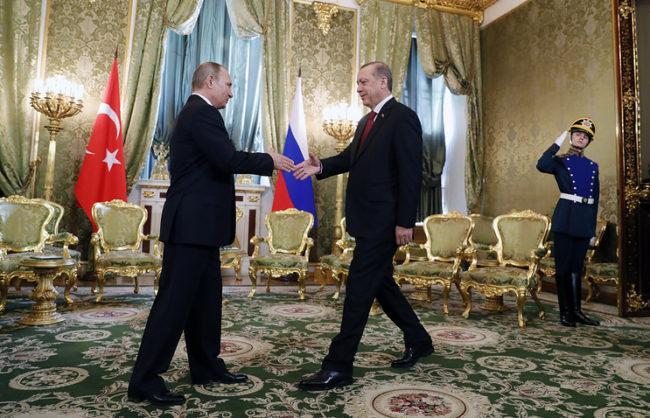 Путин: Връзките между Русия и Турция се възстановяват с бързи темпове