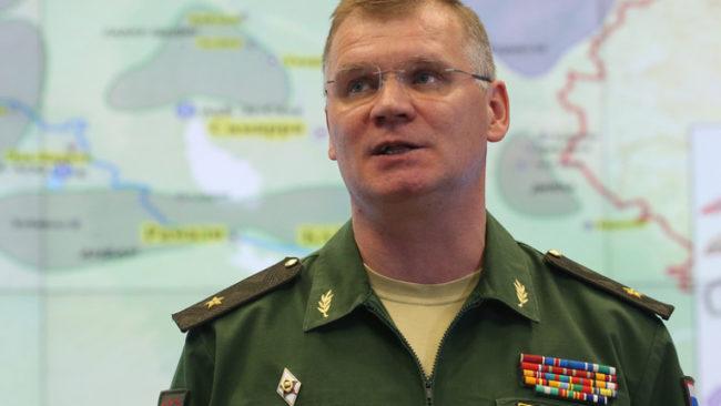 Руското военно министерство обяви, че не е разполагало специални части в Египет