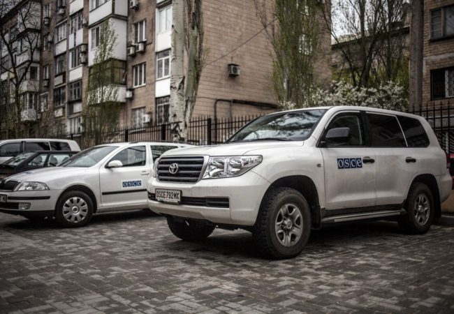 ОССЕ обяви датата на ново примирие в Донбас