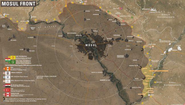 Русия предложи в Мосул да бъде приложен подход като този при освобождаването на Алепо