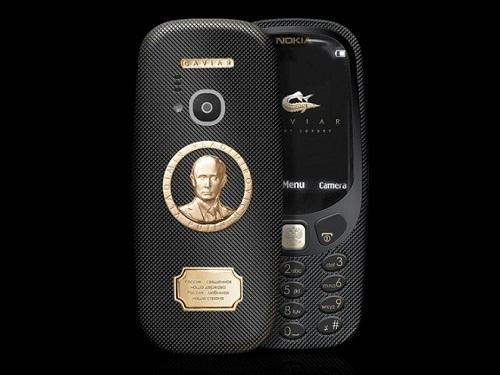 Нов луксозен вариант на Nokia 3310, вдъхновен от най-популярния човек в Русия