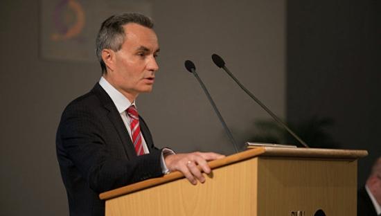 Ръководителят на търговското представителство на Русия в Чехия Сергей Ступар.