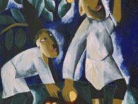 Селяните, които събират ябълки. 1911