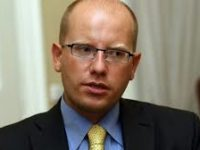 Министър-председателят на Чехия и лидер на Чешката социалдемократическа партия, Бохуслав Соботка