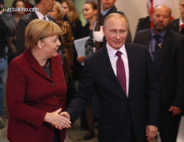 Ангела Меркел и Владимир Путин ще се срещнат на 2 май в Сочи