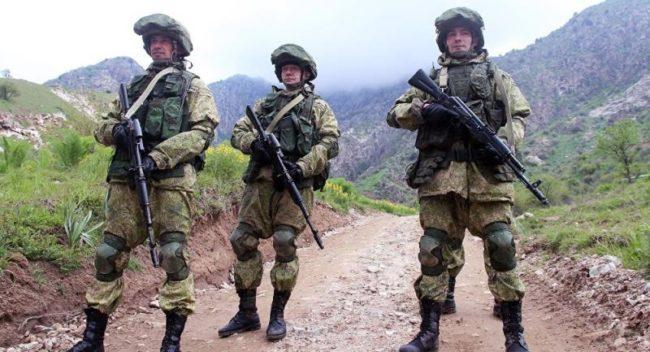 Съвместно военно учение на Русия и Таджикистан