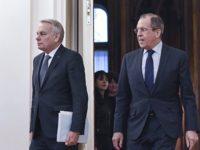 Сергей Лавров в разговор с френския си колега Еро: Химическата атака в Сирия беше провокация!