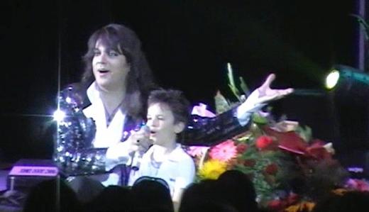 С Филип Киркоров на една сцена