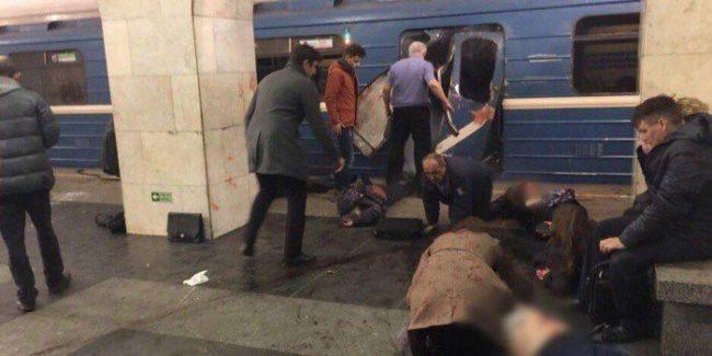 14 станаха жертвите в Санкт Петербург, обявиха тридневен траур