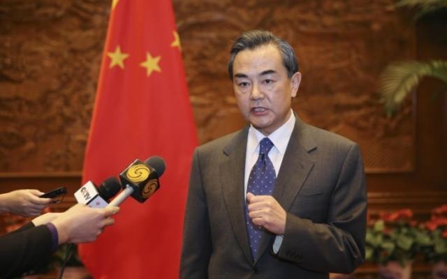 министърът на външните работи на Китай Уанг И