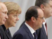 """Владимир Путин обсъди ситуацията в Донбас с лидерите на страните от """"нормандската четворка"""""""