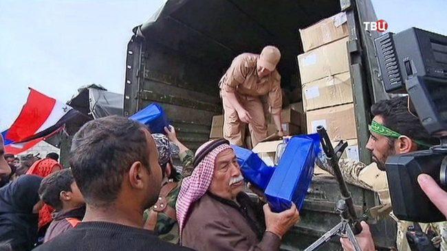Русия е доставила на жителите на Алепо 4,8 тона хуманитарна помощ