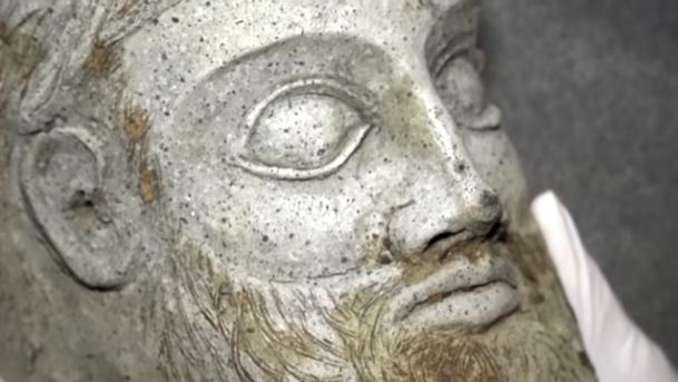 Гръцки бог открит под Кримския мост