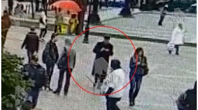 Камери са заснели вероятния организатор на взрива в Санкт Петербург