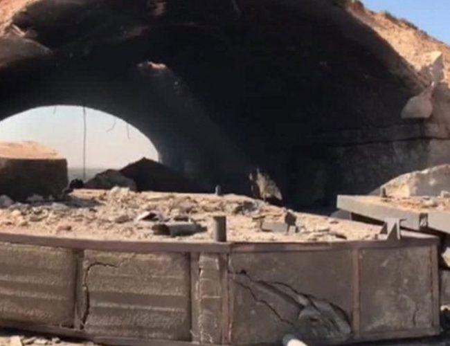 Руската телевизия показа кадри от атакуваната от САЩ сирийска база